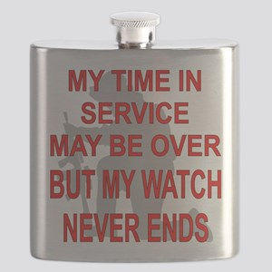My Watch Never Ends 3 Flask