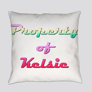 Property Of Kelsie Female Everyday Pillow