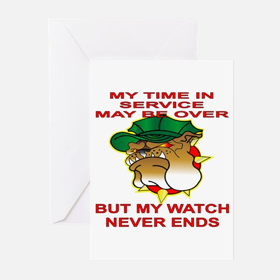 My Watch Never Ends 1 Greeting Cards (Pk of 20)