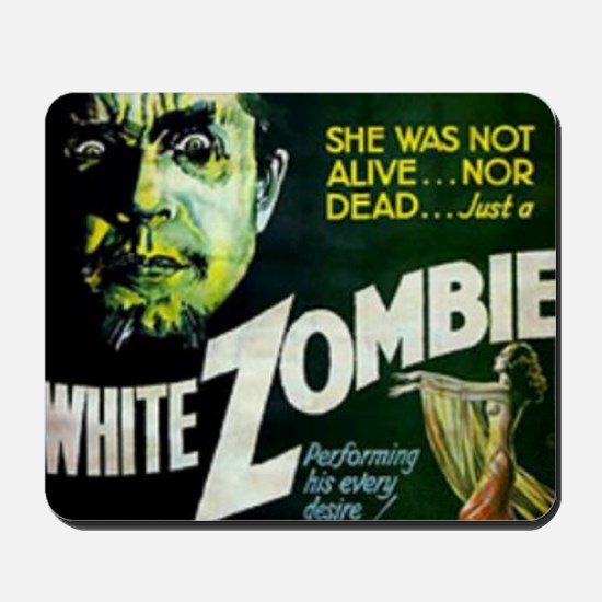 white zombie Mousepad