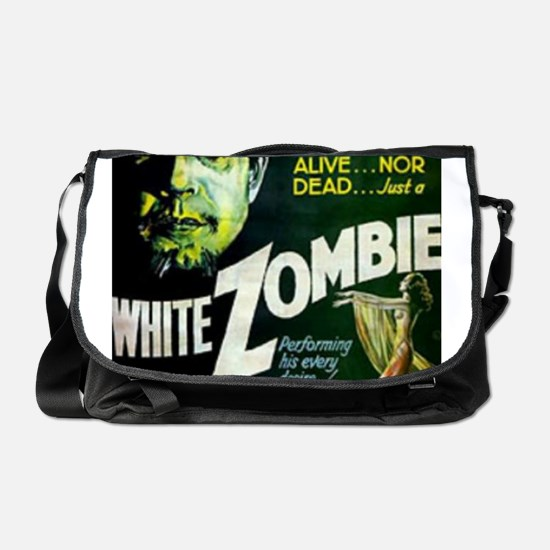 white zombie Messenger Bag