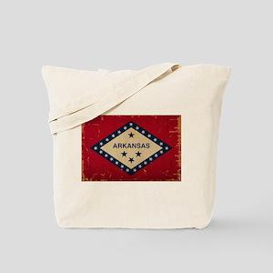 Arkansas State Flag VINTAGE Tote Bag