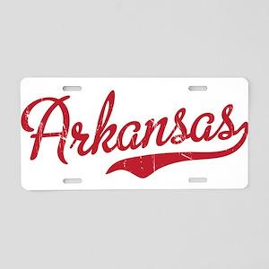 Arkansas Aluminum License Plate