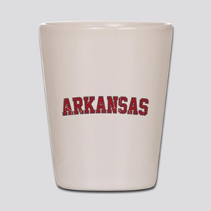 Arkansas - Jersey Shot Glass