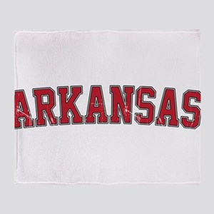 Arkansas - Jersey Throw Blanket