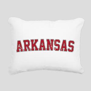 Arkansas - Jersey Rectangular Canvas Pillow