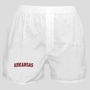 Arkansas - Jersey Boxer Shorts