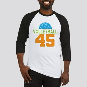 Volleyball player number 45 Baseball Jersey