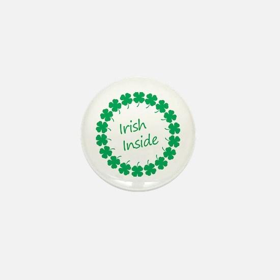 Irish Inside Belly Mini Button