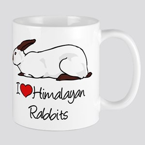 I Heart Himalayan Rabbits Mugs