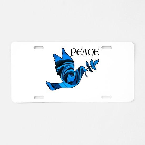 Think Zen Aluminum License Plate