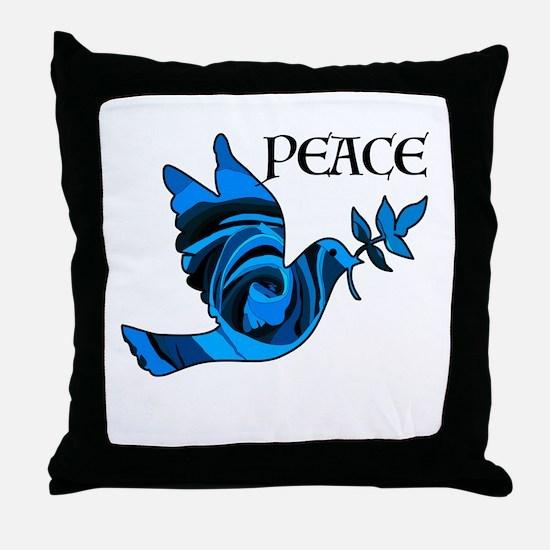 Think Zen Throw Pillow