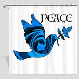 Think Zen Shower Curtain