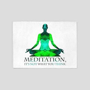 Meditation 5'x7'Area Rug