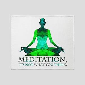 Meditation Throw Blanket