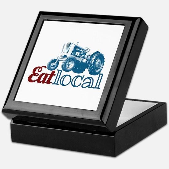Eat Local Patriotic Keepsake Box