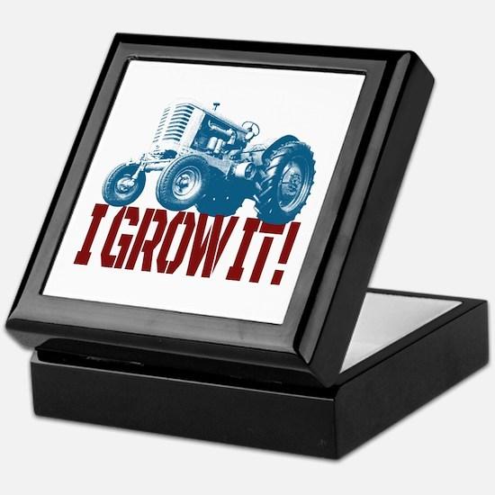 I Grow It Patriotic Keepsake Box