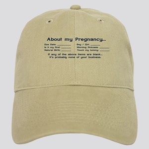 About My Pregnancy Fill-In Form Cap