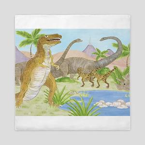 Dinosaur Queen Duvet