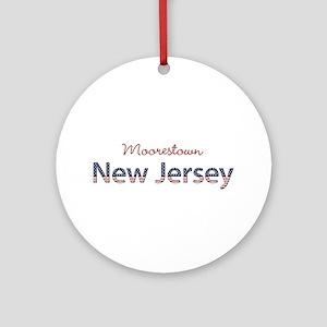 Custom New Jersey Ornament (Round)