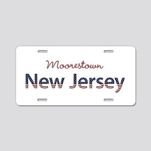 Custom New Jersey Aluminum License Plate