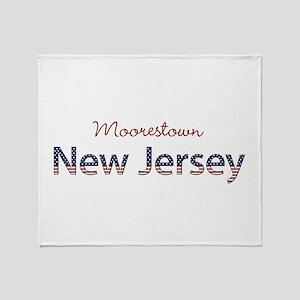Custom New Jersey Throw Blanket