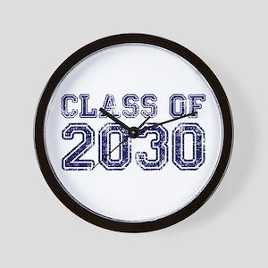 Class of 2030 Wall Clock