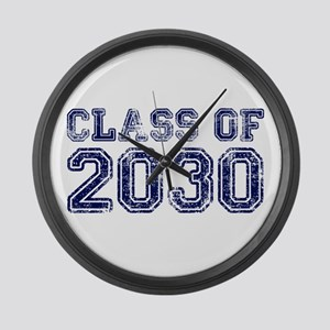 Class of 2030 Large Wall Clock
