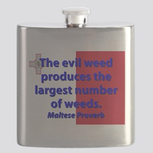 The Evil Weed Flask