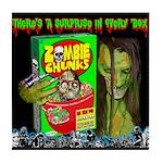 Zombie Chunks Tile Coaster