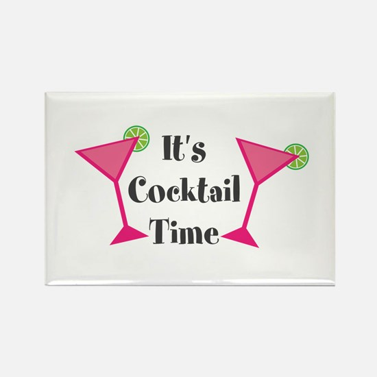 Its Cocktail Time Magnets