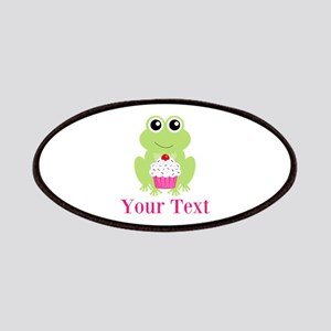 Personalizable Cupcake Frog Patches