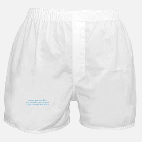 Always Read Something Boxer Shorts