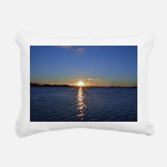 Sunrise at Antioch Rectangular Canvas Pillow