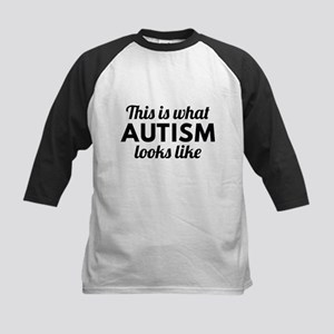 Autism Looks Like Baseball Jersey