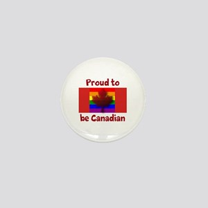 Proud to be Canadian Mini Button