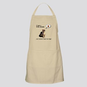Hanukkah Dreidel Cat Light Apron