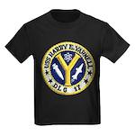USS HARRY E. YARNELL Kids Dark T-Shirt