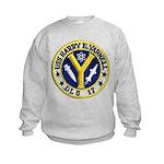 USS HARRY E. YARNELL Kids Sweatshirt