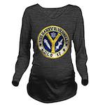 USS HARRY E. YARNELL Long Sleeve Maternity T-Shirt