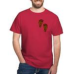Tribal Toes Dark T-Shirt