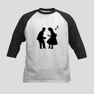 Couple Dancing Baseball Jersey