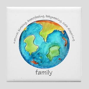 Earth Mama Tile Coaster