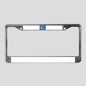 Quiet Person License Plate Frame