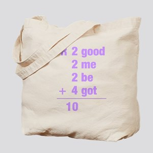 Math txt Tote Bag
