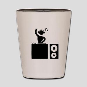 DJ Booth Shot Glass