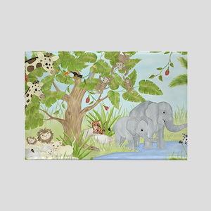 Jungle Animal Magnets