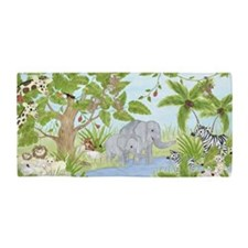 Jungle Animal Beach Towel