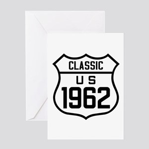 Classic US 1962 Greeting Cards