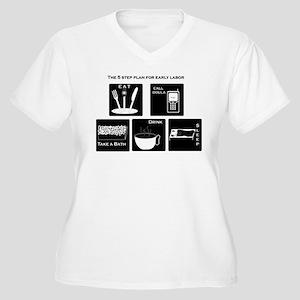 5 step plan Women's Plus Size V-Neck T-Shirt